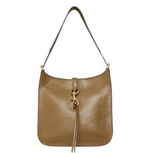 $198 *NEW* Rebecca Minkoff Megan Leather Feedbag